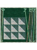 "Arashiyama Quilt by Natalie Crabtree /76""x74"""