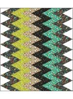 "Atomic Chevron Quilt by Heidi Pridemore   /56""x64"""