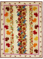 "Autumn Harvest Quilt by Marinda Stewart /41.5""x55.5"""