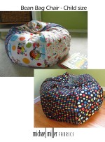 Bean Bag Chair - Child size tutorial