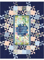 """Grand Central Be Kind to Everything that Grows Quilt by Swirly Girls Design 60""""x78"""""""