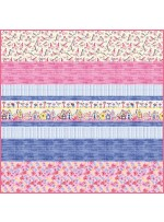 Birdsong MINKY Strip Quilt- fre pattern available in November