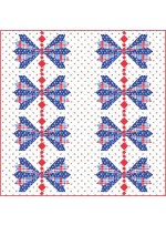 """Blue Ribbon by Susan Emory  /57""""x57"""""""