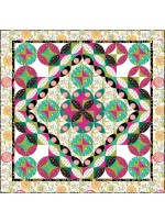 """Bohemian Peels Quilt by Material Girlfriends Patterns  /63""""x63"""""""