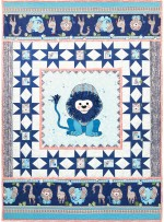 "Born to be Wild Quilt by Marinda Stewart /40""x56"""