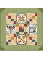 "Born to Sew Quilt  by Jackie Patton /24""x24"""