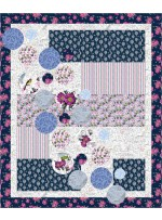 "Bubbles Quilt by Seams Like a Dream /50""x60"""