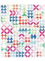 "Building Blocks Quilt by Tamara Kate  / 54""x64"""