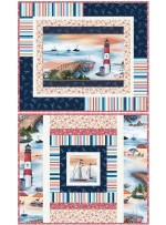 "By the Sea Placemats by Wendy Sheppard / 16""x19"" - Pattern available in March"