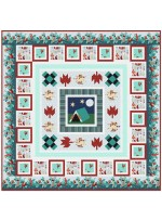 "Campground Critters Quilt by natalie Crabtree /70""x70"""
