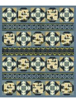 "Chase and Buck Quilt by Heidi Pridemore / 63""x76"" - Instructions Coming Soon"