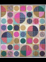 "Circles by Tara Faughnan / 56x64"""