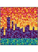 Cityscape Quilt by Rob Appell