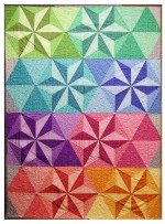 "Coco Star Quilt by Rob Appell 43.5""x60"""