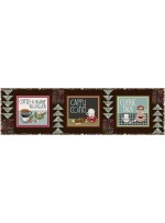 """One Way Street Table Runner by The Fabric Addict 48.5""""x13.5"""""""