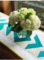 Cotton Couture - Ombre Table Runner by Patty Sloniger