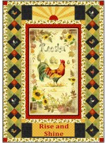 Wake Up Call County Fair Quilt by Marsha Evans Moore - Pattern available in September