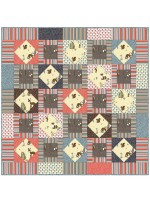 "Critter Tails Quilt by Debby Kratovil /48""x48"""