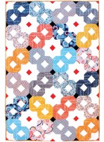 "Infinity Quilt by Tamara Kate /48""x72"""