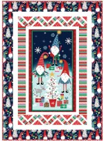 "Do the Peppermint Twist Quilt by Natalie Crabtree / 50""x70"""