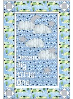 "Dreaming Big Boy Quilt by Whistlepig Creek Productions /38""x56"""