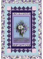 "Dreamscape Quilt by Heidi Pridemore /48""x69"" - Pattern will be available in July"