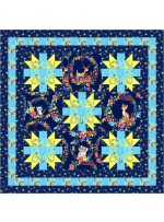 """Forest Flowers Quilt by Bea Lee 31.5""""x31..5"""""""