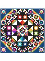 """Fabulous Block of the Month Quilt by Charisma Horton 96""""x96"""""""