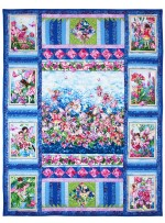 "Fairy Whispers Quilt by Marinda Stewart /40.5""x52.5""- Instructions coming soon"