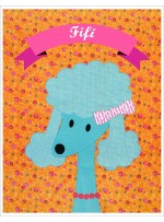 "Fifi Quilt  by Shiny Happy World /42""x42"""