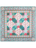 """Flamingo Bay Quilt by Marinda Stewart /41.5""""41.5"""" - Instructions Coming Soon"""