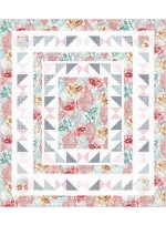 Flower Burst Quilt - Sorbet by Heidi Pridemore