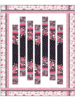"""Flutterby Floral Quilt by Heidi Pridemore  /64""""x79"""""""