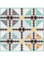 "Follow the Trail Quilt by Natalie Crabtree /72""x72"" - Instructions Coming Soon"