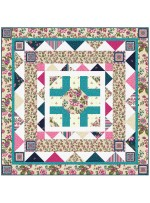 "Provencial French Provencial CreamQuilt by Heidi Pridemore /58""x58"""