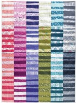 """Fruit Stripes Quilt by Patty Sloniger /45""""x56"""""""