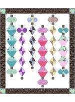"Lanterns Quilt by Charisma Horton /72""x82"""