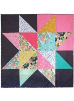 Giant Star Quilt by Jenni Baker /68x68""