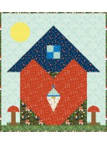 """The Heart of a Gnome Quilt by Charisma Horton /47""""x53"""""""