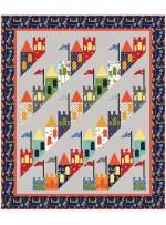 "Good Knight Quilt by Heidi Pridemore /65""x77"""