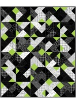 """Shades of Gray Graydations Quilt by Heather Valentine of The Sewing Loft 60""""x72"""""""