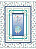 """1000 words - handle with care quilt by miss winnie designs /68""""x67"""""""