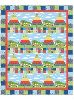 "Happy Hoedown Quilt by Heidi Pridemore /56""x70"" - Instructions Coming Soon"