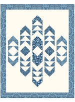 """Polarized - harmony Quilt by Canuck Quilter Designs 57.5""""x73"""""""