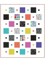 "Overnight Sensation Quilt by Susan Emory  /64""x76"""