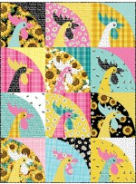 """Rise and Shine Hello Sunshine Quilt by Everyday Stitches 30""""x40"""""""