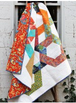 Valencia Hexie Link Quilt  by Karie Jewels