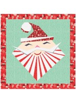 "Hip St. Nick Wall Hanging by Hunter's Design Studio / 21""x21"""