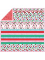 "Holiday Row - Strip Quilt /58""x58"""