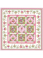 "Magic Pixie Quilt by Marsha Moore /51""x51"" - Instructions Coming Soon"
